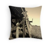 Dead Tracks in Air......... Eltham NSW Throw Pillow