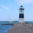 The Erie Pier Lighthouse by Jack Ryan