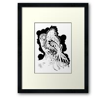 Minion of Cthulhu in Ceremonial Mask Framed Print
