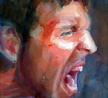 A Portrait A Day 17 - Michael Scholl by Yevgenia Watts