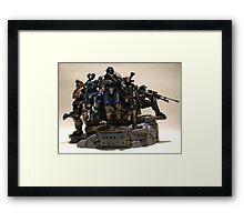 Noble Team Framed Print