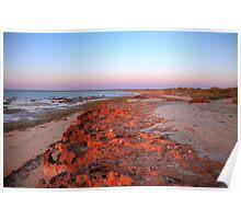 Sunrise at Heron Point, Exmouth Gulf, WA #2 Poster