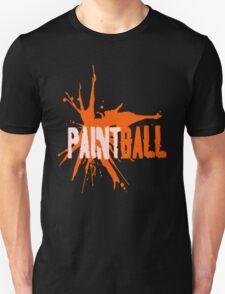 Paintball peach orange T-Shirt