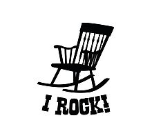 I Rock! Photographic Print