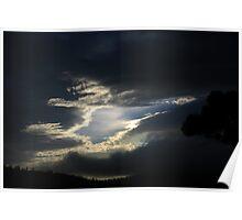 coastal sky 2. eastcoast - tasmania Poster