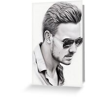 Liam Payne Greeting Card