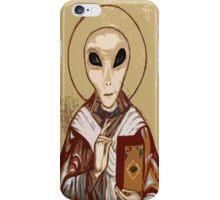 Ancient Alien Religious Art  iPhone Case/Skin