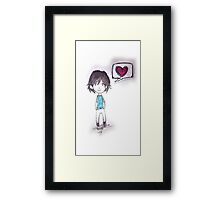 Little Emme Framed Print