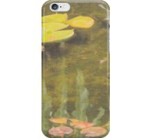 Waterweeds at the Pond iPhone Case/Skin