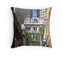 Melbourne - Madame Fang in Crossley St Throw Pillow