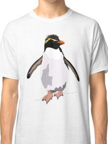 Bird - Illustration - Rockhoper Penguin Classic T-Shirt