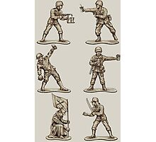 FASTFOOD SOLDIERS Photographic Print