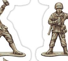 FASTFOOD SOLDIERS Sticker
