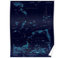 Massachusetts  USGS Historical Topo Map MA Hull 350216 1944 24000 Inverted Poster