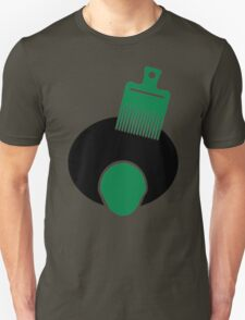Afro, Pick, And Face T-Shirt
