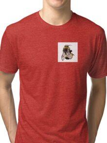 Bee Drawing Tri-blend T-Shirt
