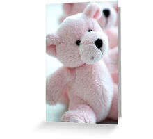 Think Pink! Greeting Card