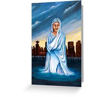 Lady of All Nations Rises Greeting Card