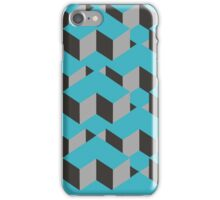 Square Cubes Pattern iPhone Case/Skin