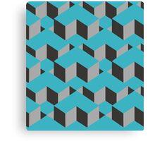 Square Cubes Pattern Canvas Print