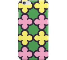 Summer Fun Quatrefoil Pattern iPhone Case/Skin