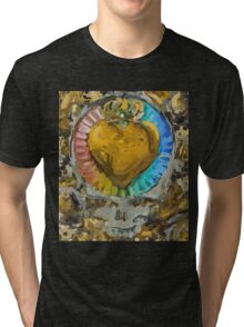 Heart of Gold Tri-blend T-Shirt