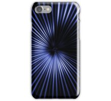Blue Rays of Light iPhone Case/Skin