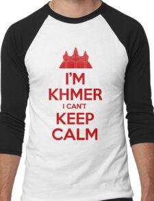 I'm Khmer I Can't Keep Calm Men's Baseball ¾ T-Shirt