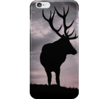 Stag In A Storm iPhone Case/Skin