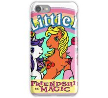 Vintage friendship is magic. iPhone Case/Skin