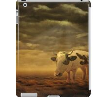 Pig and cow hybrid iPad Case/Skin
