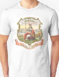 Vintage California State Seal Unisex T-Shirt