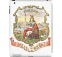 Vintage California State Seal iPad Case/Skin