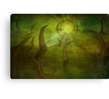 Time travel portal Canvas Print