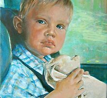 Drive (Leo 2 years old) by Julia Prusi
