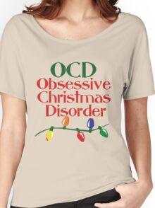 OCD obsessive christmas disorder Women's Relaxed Fit T-Shirt