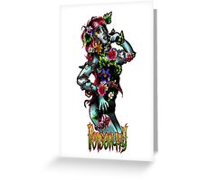 DC Comics - Poison Ivy/Amelia Nightmare crossover Greeting Card