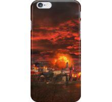 Burning city iPhone Case/Skin