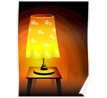 Brightness of the table lamp	 Poster