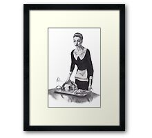 The Dark Knight Rises - Anne Hathaway as Selina Kyle Framed Print
