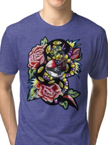 Seviper-pokemon tattoo collaboration Tri-blend T-Shirt