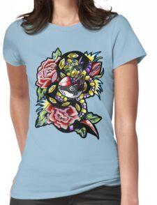 Seviper-pokemon tattoo collaboration Womens Fitted T-Shirt