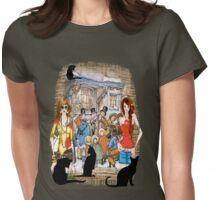 The Carol singers Womens Fitted T-Shirt