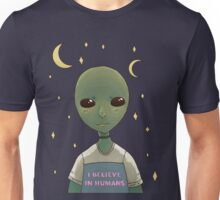 I believe in humans Unisex T-Shirt