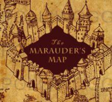 Marauders Map,Harry Potter Sticker