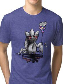 Banette and drifloon pokemon piece Tri-blend T-Shirt