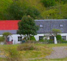 Crofthouses, Tralee Bay by JOHN MACBRAYNE