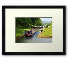 Narrow Boat,  Framed Print