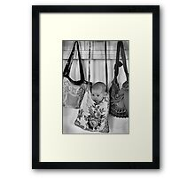 Hooked On You Baby Framed Print