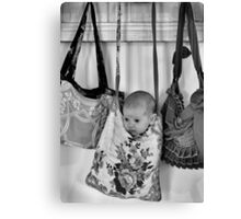 Hooked On You Baby Canvas Print